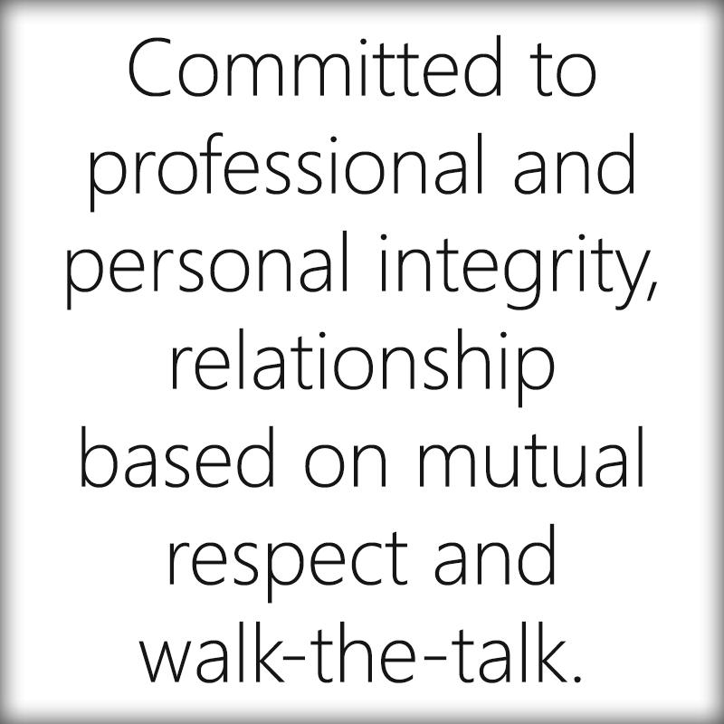 Integrity-text